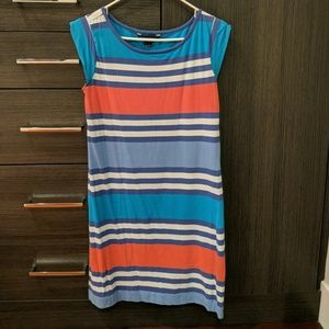 French Connection striped t-shirt dress